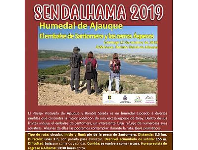 SENDALHAMA 2019: Humedal de Ajauque