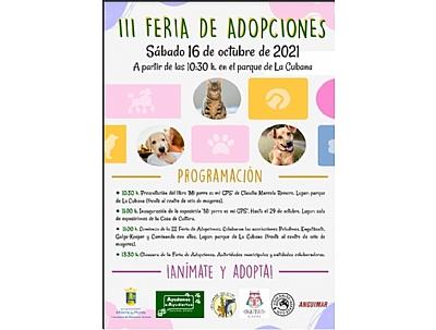 III FERIA DE ADOPCIONES: Presentación del libro