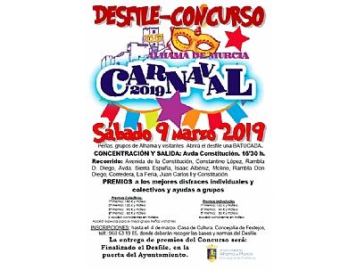 CARNAVAL 2019: Desfile-Concurso