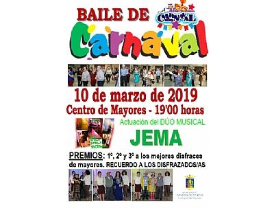CARNAVAL 2019: BAILE DE CARNAVAL
