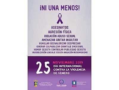 DÍA INTERNACIONAL CONTRA LA VIOLENCIA DE GÉNERO: Café-tertulia