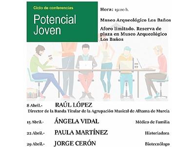 CICLO DE CONFERENCIAS POTENCIAL JOVEN: ÁNGELA VIDAL