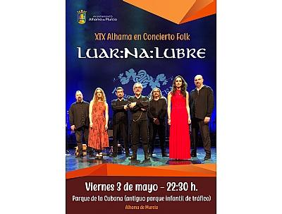 LOS MAYOS 2019: XIX Alhama en Concierto Folk