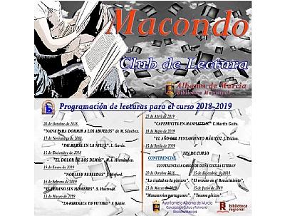 CLUB DE LECTURA MACONDO: Conferencia