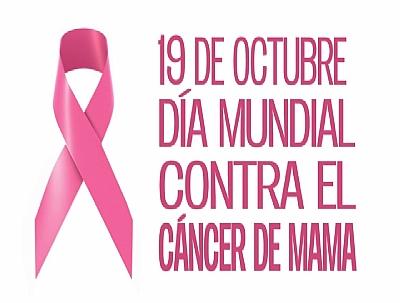DIA MUNDIAL CONTRA EL CÁNCER DE MAMA: Colocación de lazo rosa