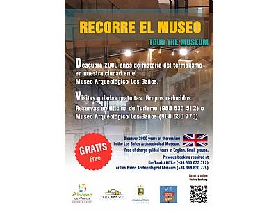 "VISITA GUIADA: ""TOUR THE MUSEUM"" en inglés"