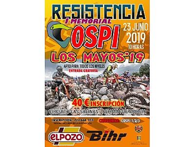 RESISTENCIA - I MEMORIAL COSPI Los Mayos 2019