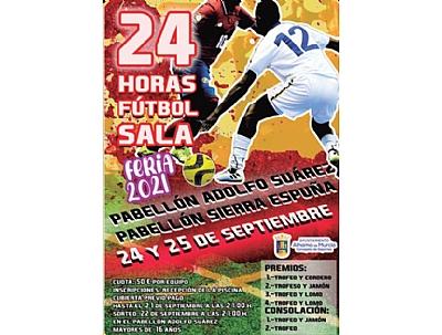 FERIA 2021: 24 HORAS FUTBOL SALA