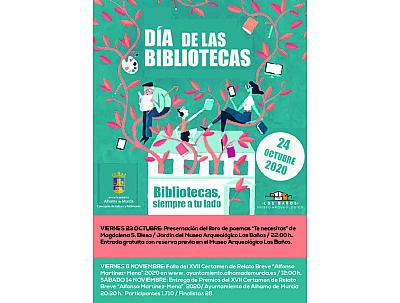 DÍA DE LAS BIBLIOTECAS: PRESENTACIÓN DEL LIBRO DE POEMAS