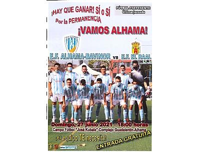 FUTBOL PREF.AUTON.: E.F. Alhama Bavinor - E.F. El Raal