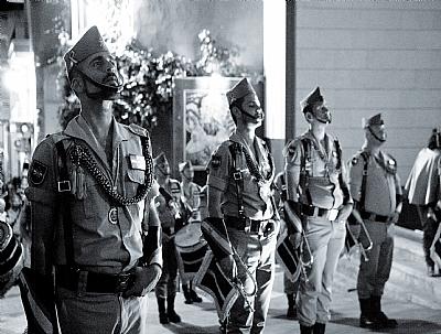 SEMANA SANTA 2019: Desfile de los Caballeros y Damas Legionarios