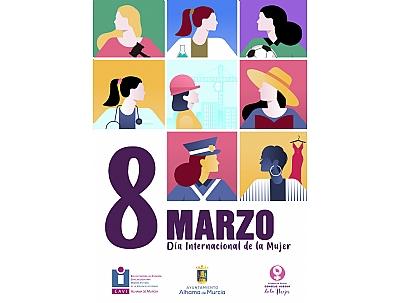 8 DE MARZO, DÍA INTERNACIONAL DE LA MUJER: Entrega Online de premios del Concurso de Literatura