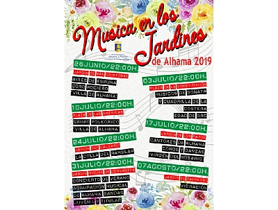 Música en los Jardines de Alhama 2019