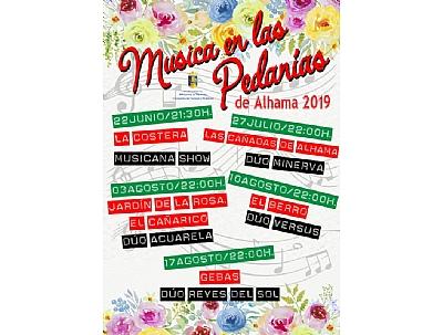 Música en las Pedanías de Alhama 2019