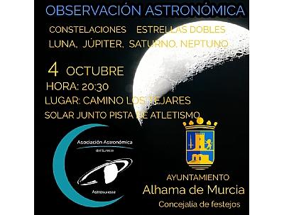 FERIA 2019: Sesión de astronomía