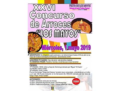 LOS MAYOS 2019: CONCURSO DE ARROCES