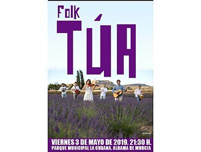 MAYOS 2019: ALHAMA EN CONCIERTO FOLK, Concierto de TÚA