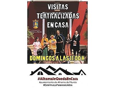 VISITA TEATRALIZADA EN CASA