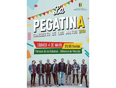 MAYOS 2019: Concierto de Los Mayos con la actuación de LA PEGATINA