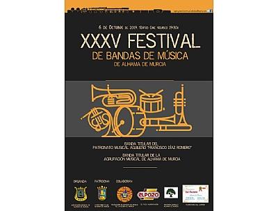 FERIA 2019: Concentración y pasacalles de las bandas participantes en el Festival de Bandas de Música.