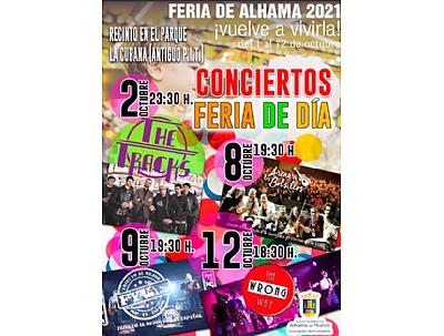 FERIA 2021: ACTUACIÓN DEL GRUPO THE TRACKS