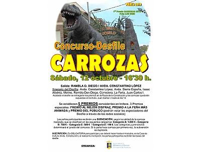 FERIA 2019: DESFILE DE CARROZAS