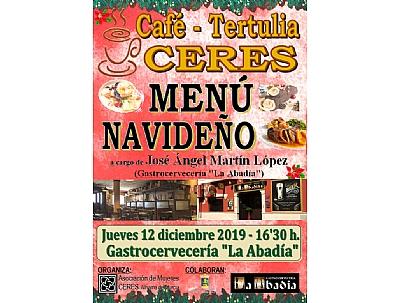 CAFÉ - TERTULIA CERES:
