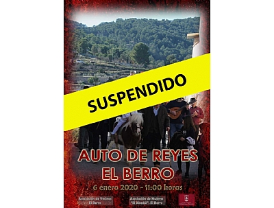 ATENCIÓN, CANCELADO --> AUTO DE REYES