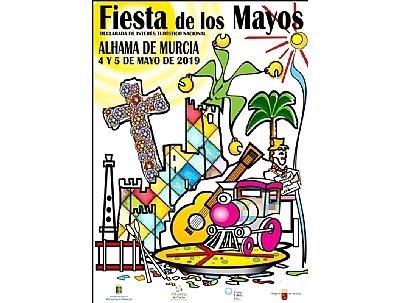 Presentación del décimo de Lotería Nacional de Los Mayos