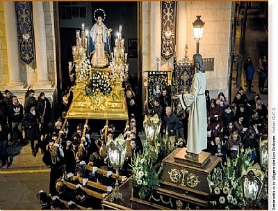 SEMANA SANTA 2019: Serenata a Nuestra Señora de Los Dolores