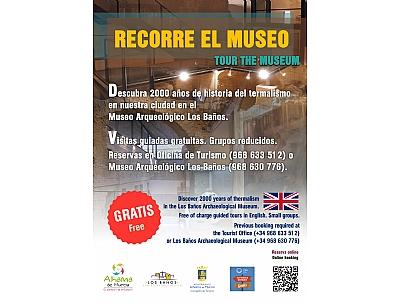 """VISITA GUIADA: """"RECORRE EL MUSEO"""" en inglés"""
