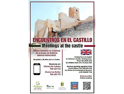 VISITA GUIADA: ENCUENTROS EN EL CASTILLO – Inglés