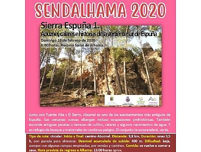 SENDALHAMA 2020: Sierra Espuña 1: Abuznel