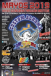 MAYOS 2019 27th Custom Alhama Bikers Weekend: concert of La Guardia