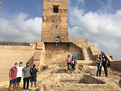 ENCUENTROS EN EL CASTILLO: Guided tour of the Castle in Spanish